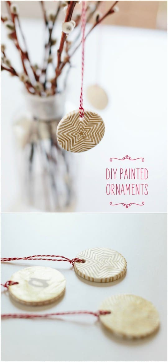 Geometric Shaped Christmas Ornaments