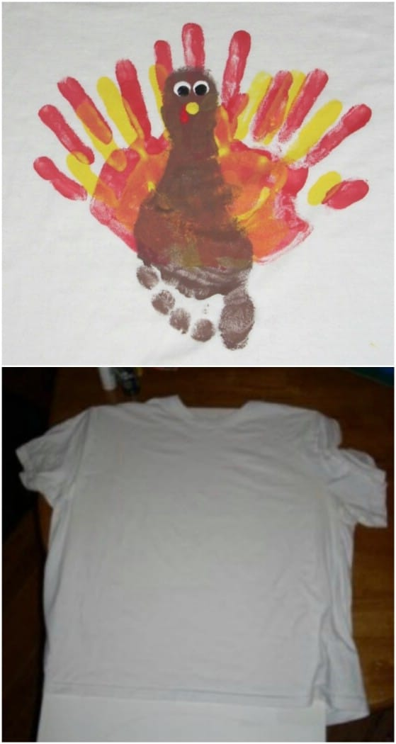 Hand And Footprint Turkey
