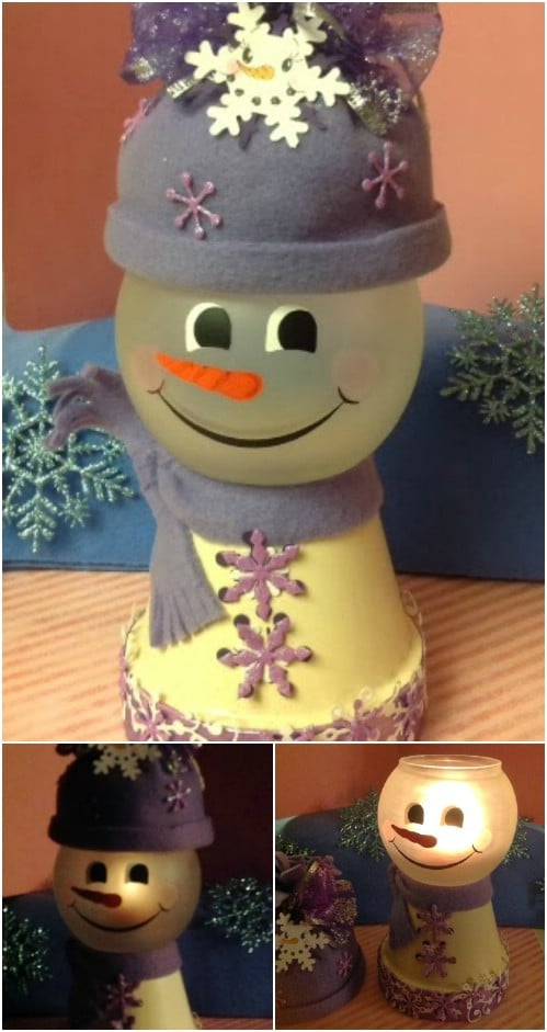 20 Diy Clay Pot Christmas Decorations That Add Charm To Your Holiday Decor Diy Crafts
