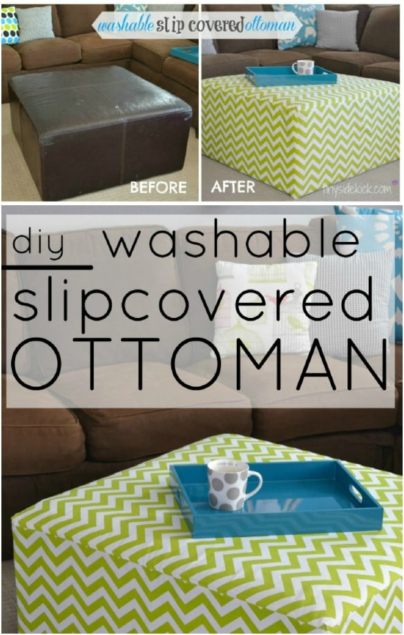20 Easy To Make DIY Slipcovers That Add New Style To Old ...