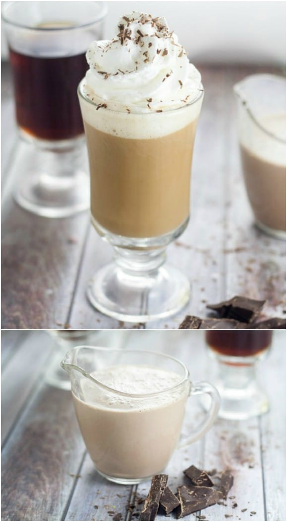 Homemade Chocolate Coffee Creamer
