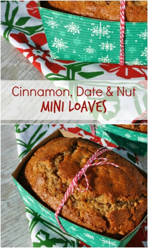 Cinnamon Nut And Date Loaves
