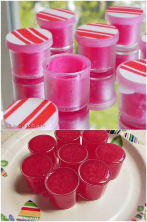 Homemade Coconut Oil Lip Gloss