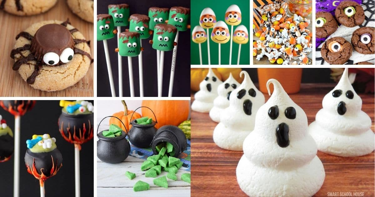Halloween Candy Ideas.30 Ghoulishly Delicious Homemade Halloween Candy Recipes