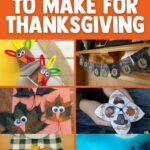Kids thanksgiving craft collage