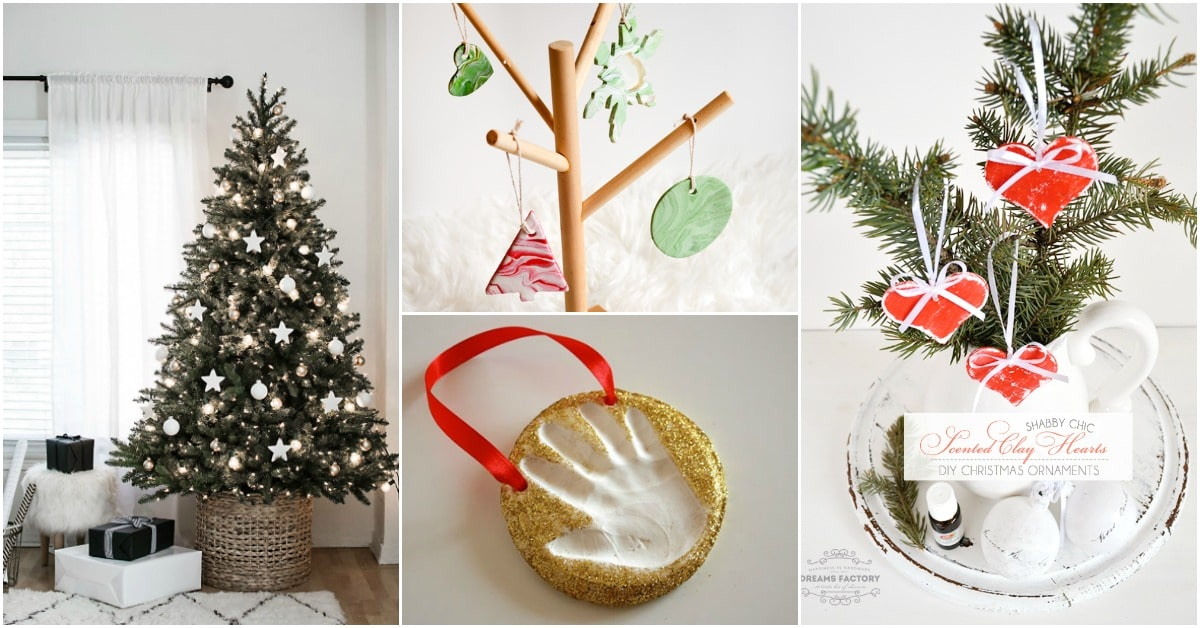13 Diy Clay Christmas Ornaments That Add Homemade Style To Your Tree Diy Crafts