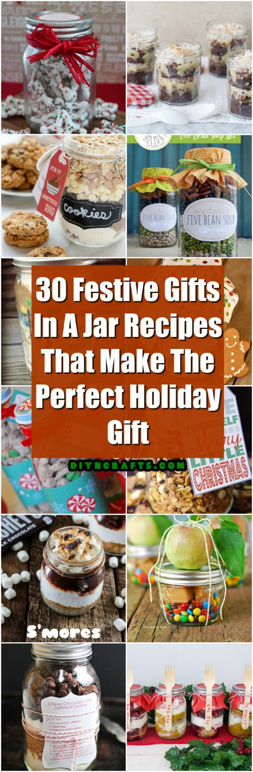 30 Festive Gifts In A Jar Recipes That Make The Perfect Holiday Gift Diy Crafts
