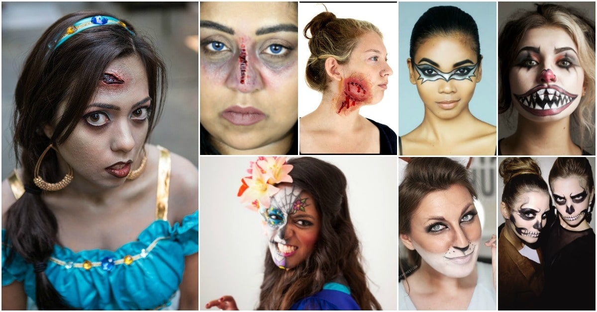 30 Amazing Diy Halloween Makeup Tutorials That Will Make You The Hit Of The Party Diy Crafts