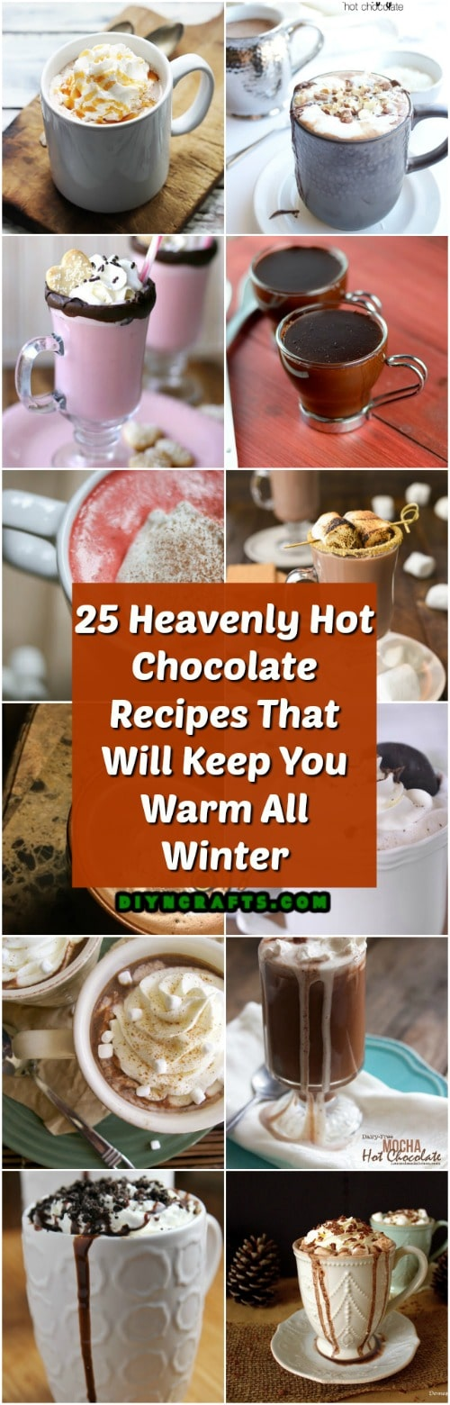 25 Heavenly Hot Chocolate Recipes That Will Keep You Warm All Winter