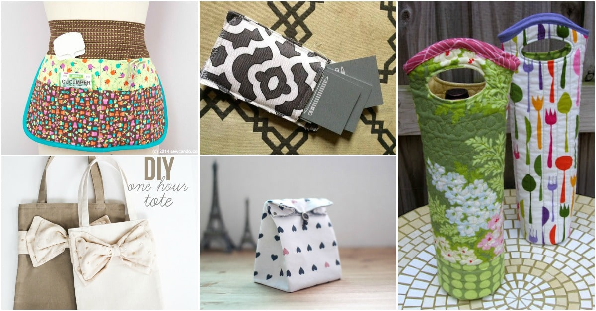 25 Amazing Hand Sewn Gifts With Free Patterns You Can Make Today