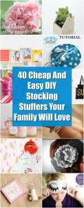 40 Cheap And Easy Diy Stocking Stuffers Your Family Will