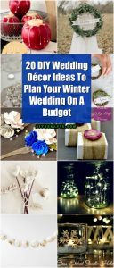 20 Diy Wedding Decor Ideas To Plan Your Winter Wedding On A