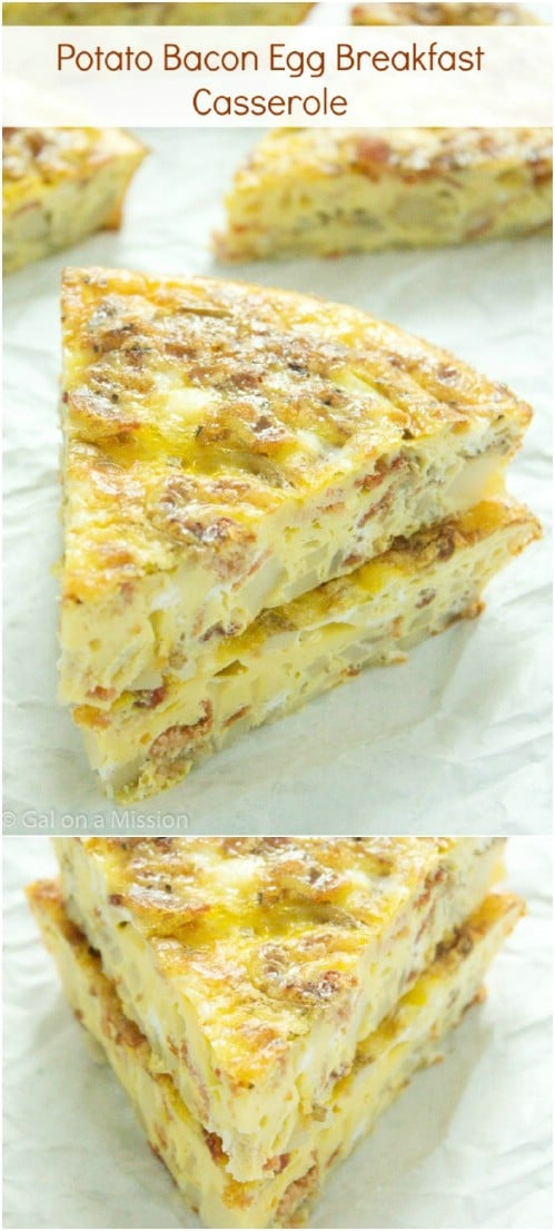 Bacon Egg And Potato Casserole