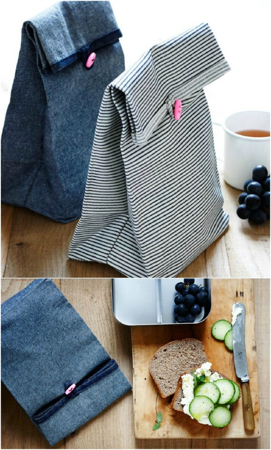 Easy Button Lunch Bags