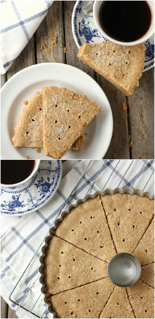 Brown Butter Shortbread Cookies