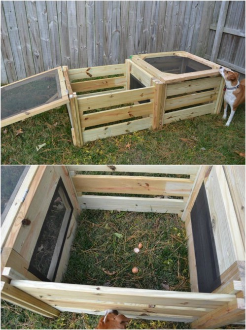 Quick And Easy Two Bin Compost Bin