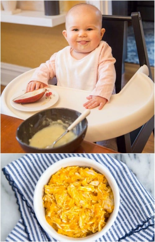 Chicken And Carrots Baby Food Puree