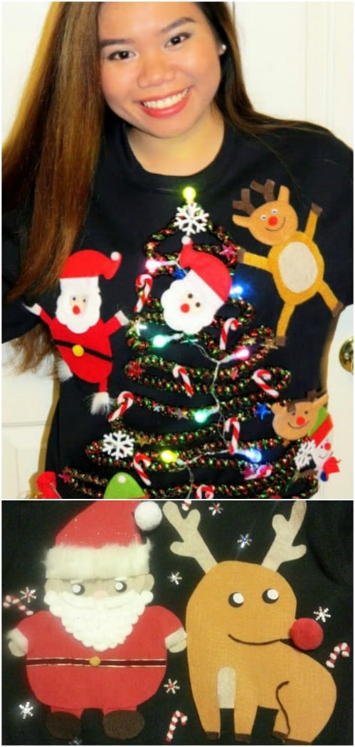 15 Fun Ugly Christmas Sweaters You Can Easily DIY DIY & Crafts