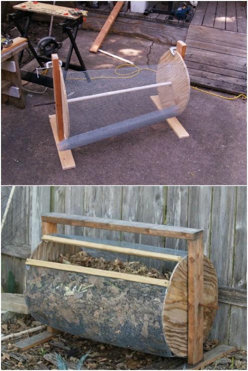 Drum Style Compost Bin
