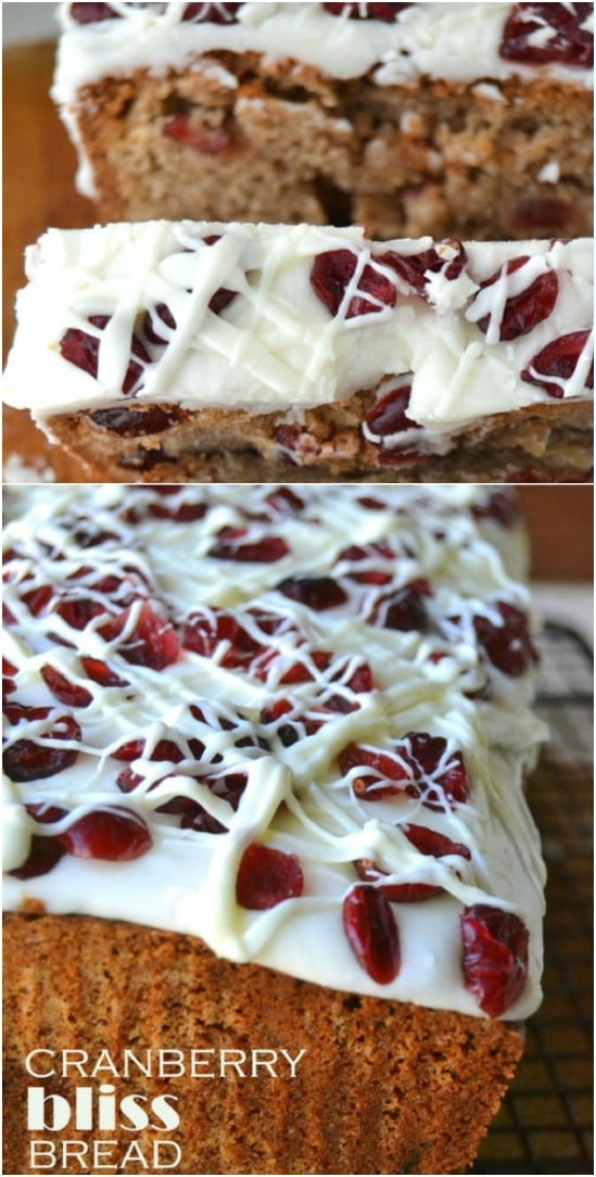 Starbucks Inspired Cranberry Bread