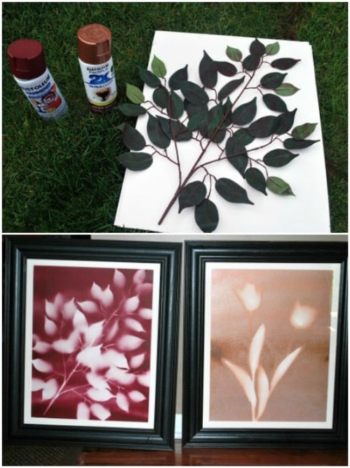 DIY Flower Art