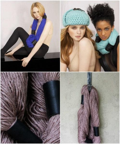 Cute DIY No Knit Yarn Scarf