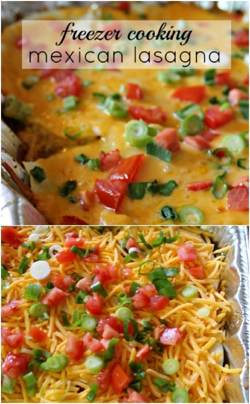 Easy Mexican Lasagna Casserole