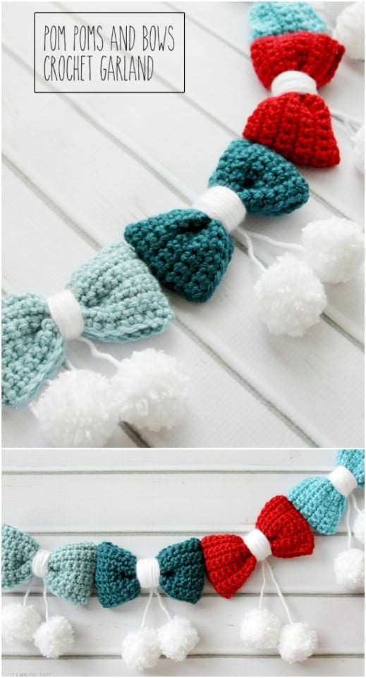 Adorable Crocheted Garland