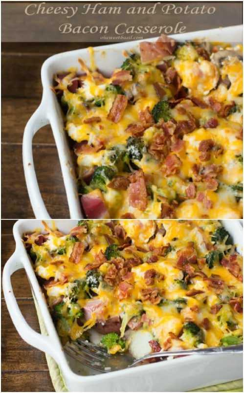Ham, Bacon and Potato Casserole
