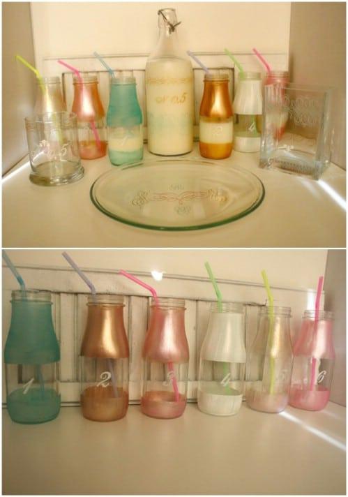 Cute Metallic Drinking Bottles
