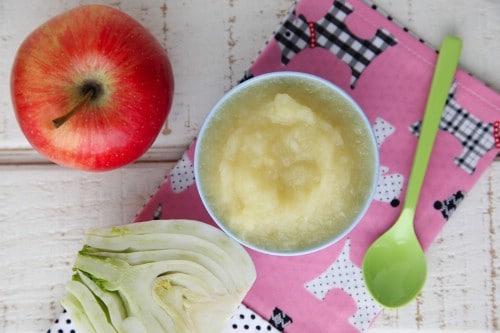 Homemade Apple Fennel Puree