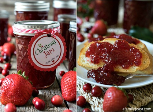 Traditional Homemade Christmas Jam