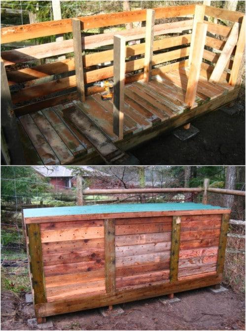 DIY Ultimate Three Bin Compost Bin