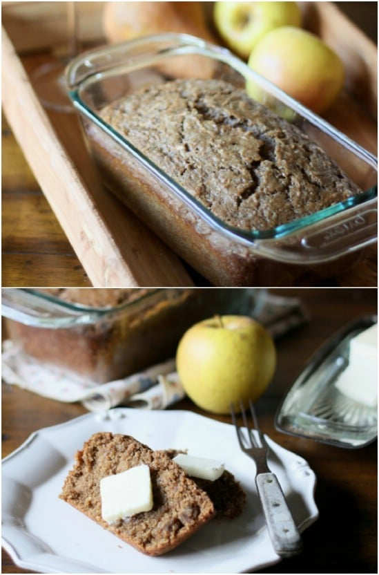 Red Wine Apple Bread