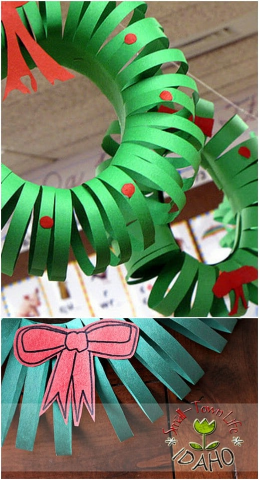 Paper Wreath Garland