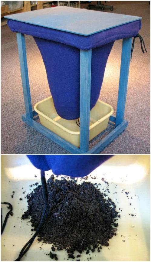Easy Indoor Vermicomposting Bin