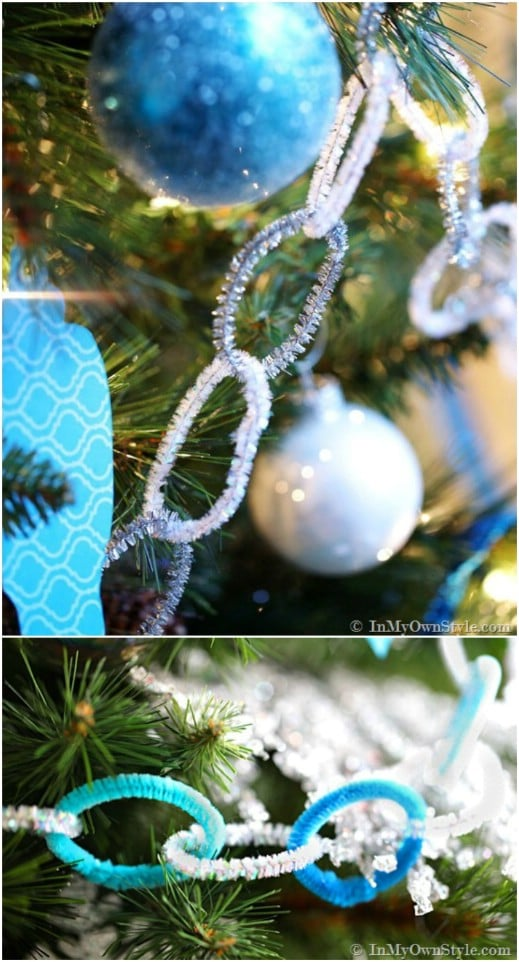Festive Pipe Cleaner Garland
