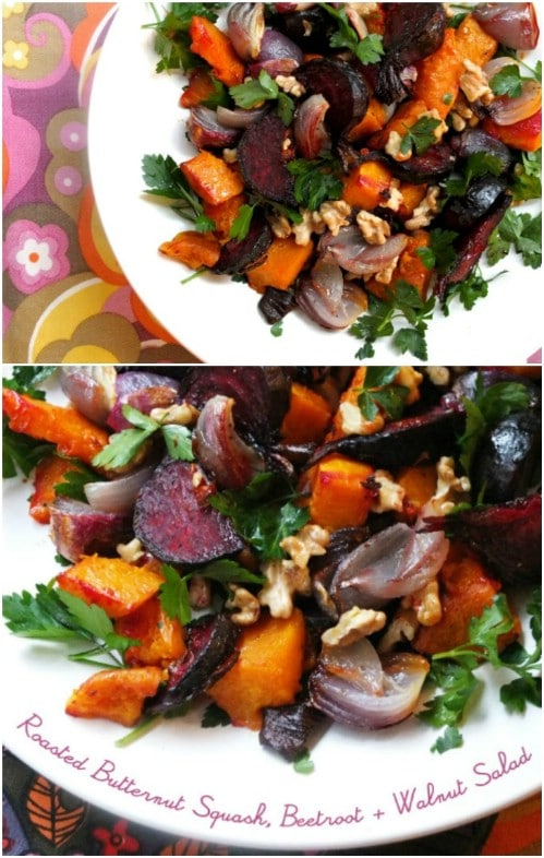 Winter Squash And Roasted Beet Salad