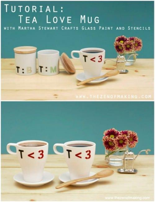 Geeky Tea Love Mugs