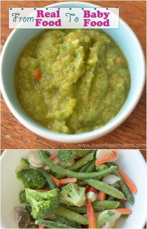 Fresh Veggie Medley Baby Food
