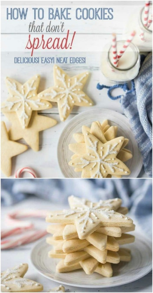 Frosted Traditional Sugar Cookies