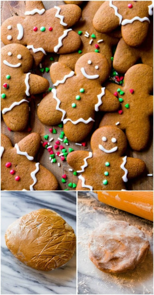 Traditional Gingerbread Men Cookies