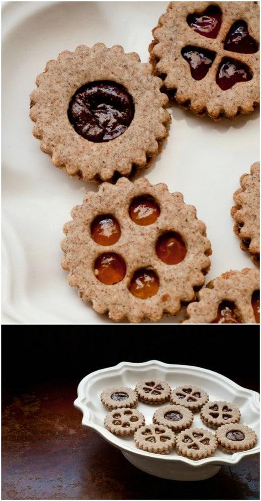 Easy Gluten Free Linzer Cookies