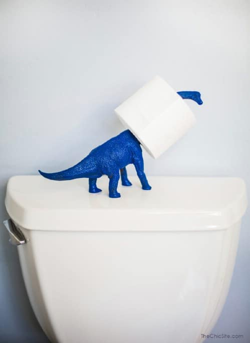 Dino Toilet Paper Holder