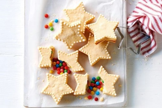 Christmas Piñata Star Cookies