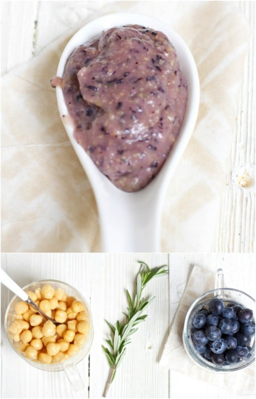Blueberry And Chickpea Baby Food