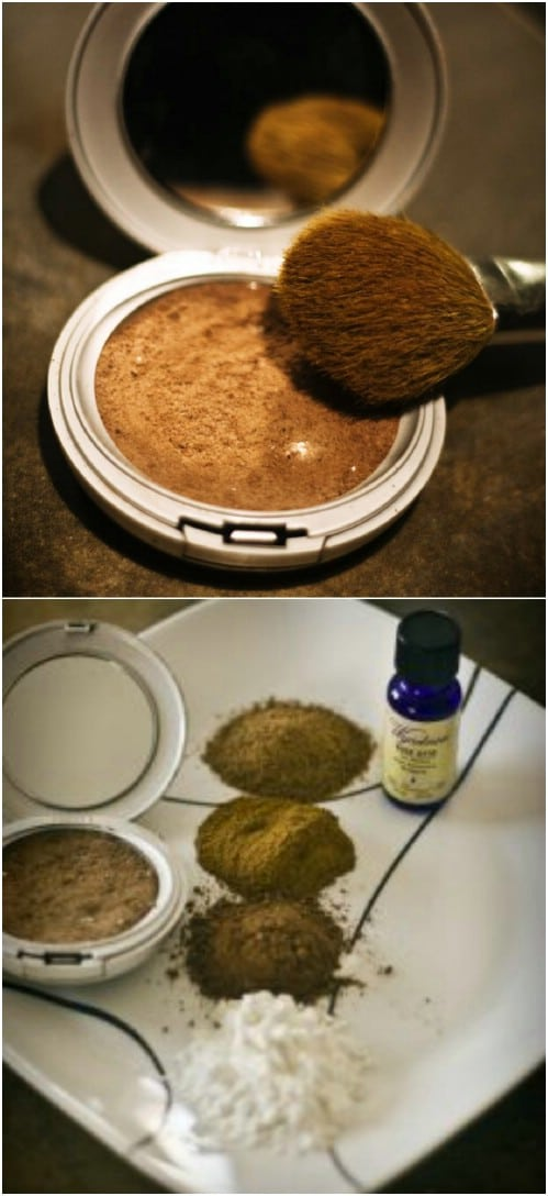 Homemade Bronzer And Contour Powder