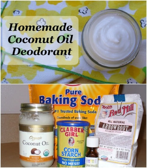 Homemade Deodorant From Cornstarch
