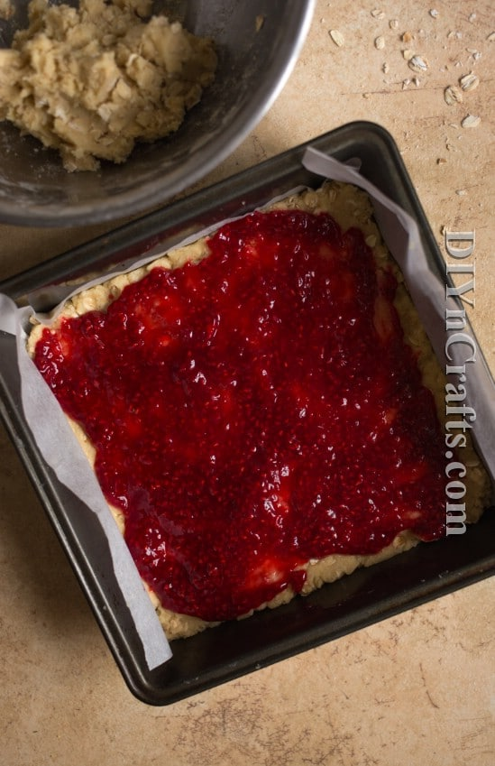 Raspberry jelly like filling gives them just the right amount of sweetness