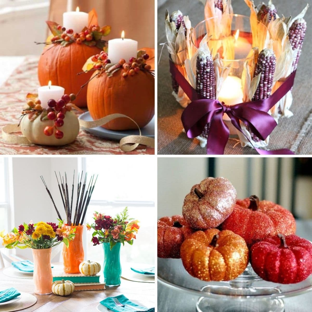 21 Diy Thanksgiving Centerpieces That Wow Your Guests